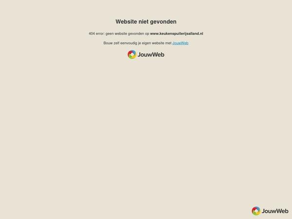 Keuken Spuiten Kosten : Algemene informatie keuken spuiterij salland